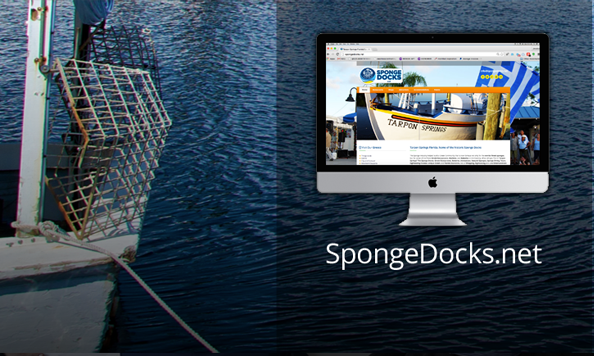 tarpon springs sponge docks web design