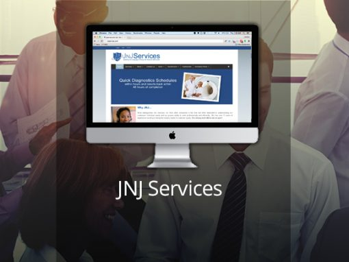 JNJ services web design